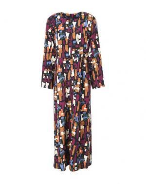 Длинное платье ZERO + MARIA CORNEJO. Цвет: черный