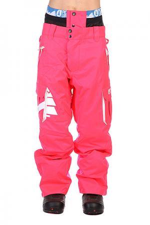 Штаны сноубордические  Park Avenue Fluo Pink Picture Organic. Цвет: розовый
