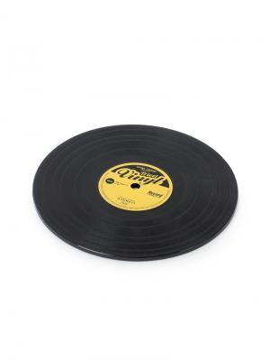 Подставка под горячее Vinyl Balvi. Цвет: черный