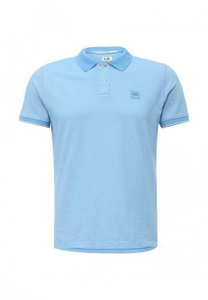Поло C.P. Company. Цвет: голубой