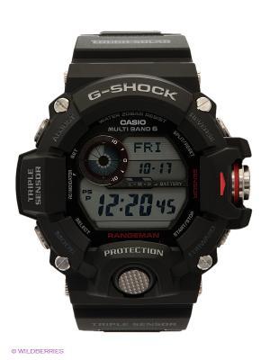 Часы G-SHOCK GW-9400-1E CASIO. Цвет: черный