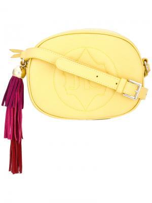 Сумка через плечо Sandy Sara Battaglia. Цвет: жёлтый и оранжевый