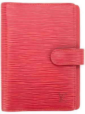 Обложка для ежедневника Louis Vuitton Vintage. Цвет: красный