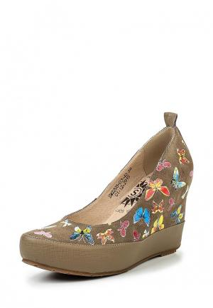 Туфли Spur. Цвет: разноцветный