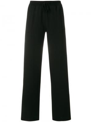 Спортивные брюки с эластичным поясом Ql2. Цвет: чёрный