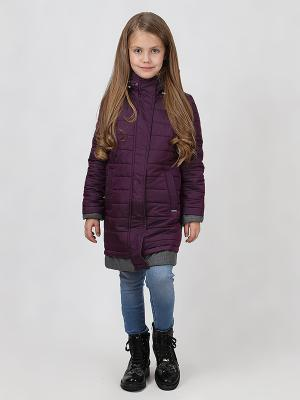 Пальто BORELLI. Цвет: фиолетовый