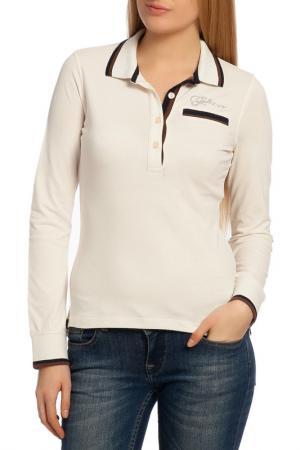 Рубашка-поло Galvanni. Цвет: бежевый