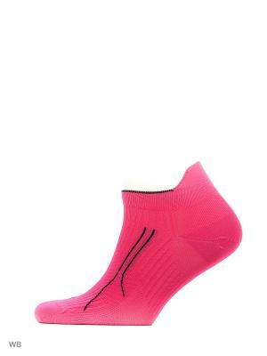 Носки CELL RUN SNEAKER 1P PUMA. Цвет: розовый