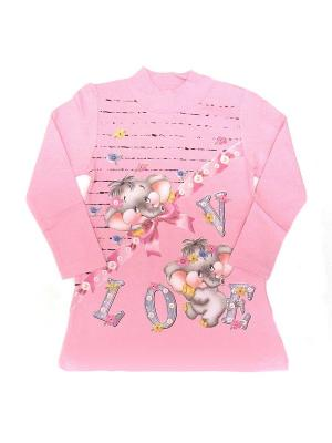Джемпер LilyKids. Цвет: розовый