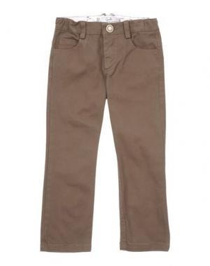 Повседневные брюки GUSELLA. Цвет: хаки