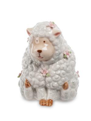 Фигурка Овечка (Pavone) Pavone. Цвет: белый