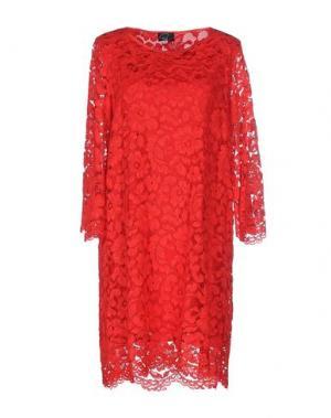 Короткое платье PAULIE. Цвет: красный