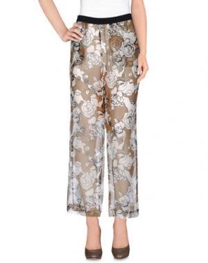 Повседневные брюки LIVIANA CONTI. Цвет: хаки