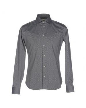 Pубашка MASSIMO BRUNELLI. Цвет: черный