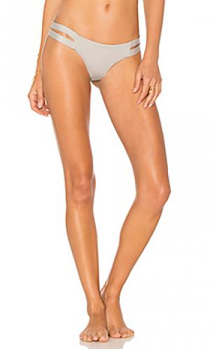 Крохотные плавки бикини хипстеры neutra vitamin A. Цвет: серый