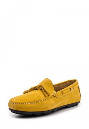Мокасины Moza-X. Цвет: желтый