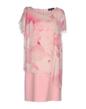 Платье до колена MARTA PALMIERI. Цвет: розовый