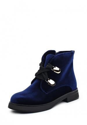 Ботинки Gene. Цвет: синий