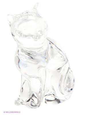 Фигурка Кошка Crystal Bohemia. Цвет: прозрачный