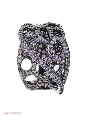 Кольцо Selena. Цвет: черный, сиреневый