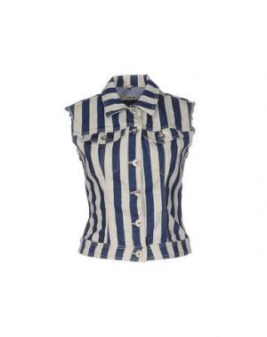 Джинсовая верхняя одежда HAIKURE. Цвет: синий
