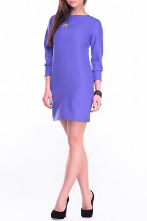 Платье Laura Bettini. Цвет: сиреневый
