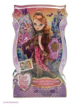 Кукла из серии Игра Драконов Ever after High. Цвет: розовый, фиолетовый, красный