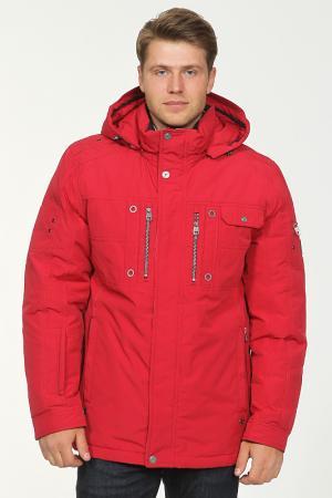Куртка City One. Цвет: красный
