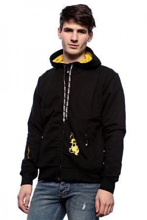 Толстовка  Coincoin Black/Yellow Apo. Цвет: черный