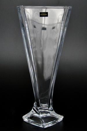 Ваза 33 см Crystalite Bohemia. Цвет: прозрачный