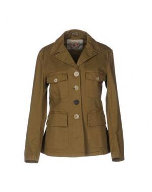 Куртка MALÌPARMI. Цвет: зеленый-милитари