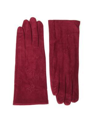 Перчатки Nice Ton. Цвет: красный
