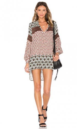 Платье the miss debares Stillwater. Цвет: цвет загара