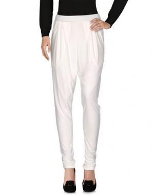 Повседневные брюки DE PIETRI. Цвет: белый