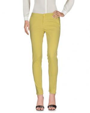 Повседневные брюки MICHAEL FORPUS. Цвет: кислотно-зеленый