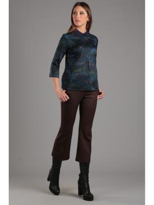 Блуза ЭНСО. Цвет: бирюзовый