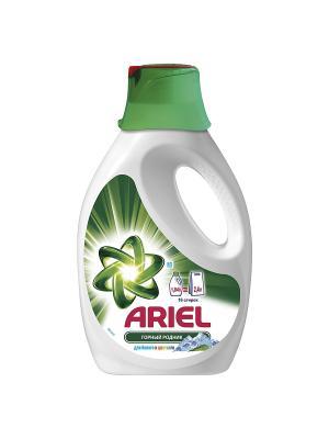 Гель для стирки Горный родник белого и цветного, 1.04л Ariel. Цвет: белый, зеленый