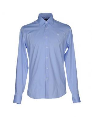 Pубашка CONTE OF FLORENCE. Цвет: лазурный