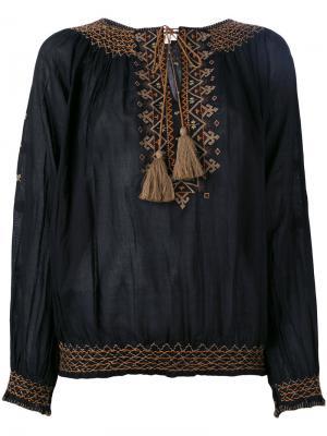 Блузка Tribal Talitha. Цвет: чёрный