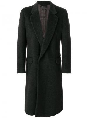 Однобортное пальто Marc Jacobs. Цвет: серый