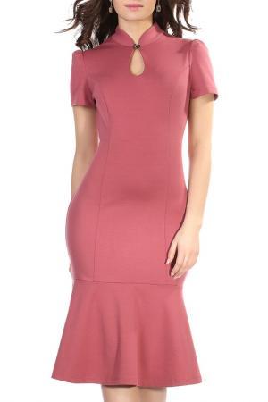 Платье Grey Cat. Цвет: розовый