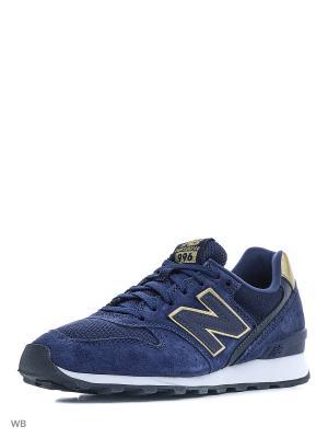 Кроссовки NEW BALANCE 996 V3. Цвет: темно-синий