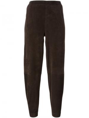 Зауженные брюки Steffen Schraut. Цвет: коричневый