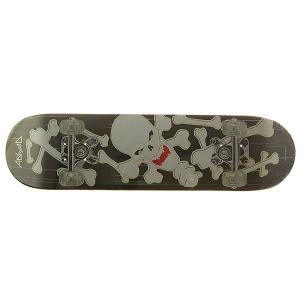 Дека для скейтборда  Made in China 1 Black 32 x 8 (20.3 см) Absurd. Цвет: мультиколор,черный