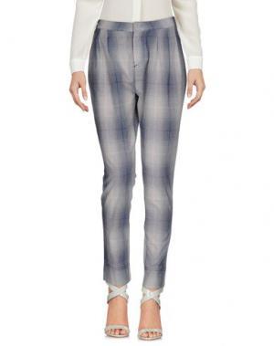 Повседневные брюки E-GÓ. Цвет: синий