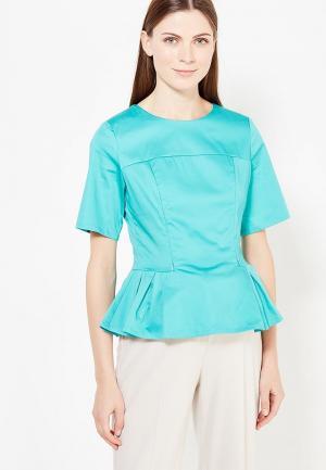 Блуза MilkyMama. Цвет: бирюзовый