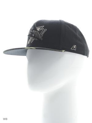 Бейсболка NHL Sharks Atributika & Club. Цвет: черный