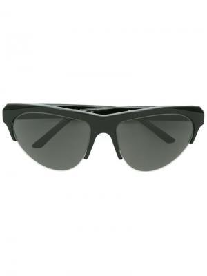 Солнцезащитные очки Ora Retrosuperfuture. Цвет: чёрный