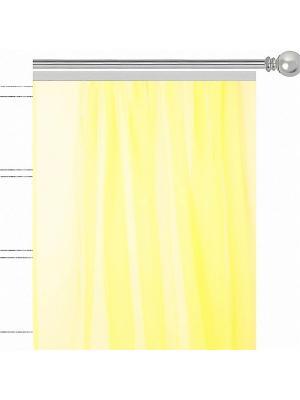 Однтонная вуаль Лучистые ромашки Altali. Цвет: желтый