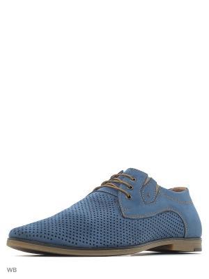 Туфли CARLO BELLINI. Цвет: голубой